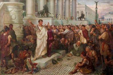 julius caesar funeral oration essay Download thesis statement on julius caesar by william shakespeare the importance of mark antony's soliloquy (funeral speech) in our database or order an original.